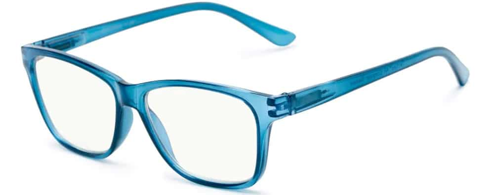 blue light blocking blue frames