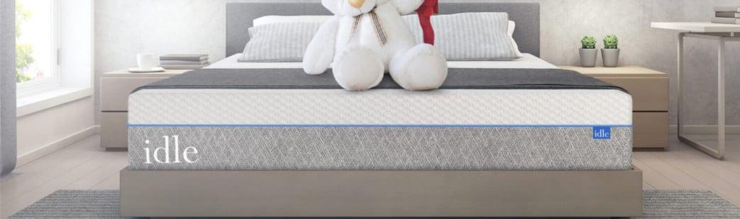 idle sleep memory foam bed