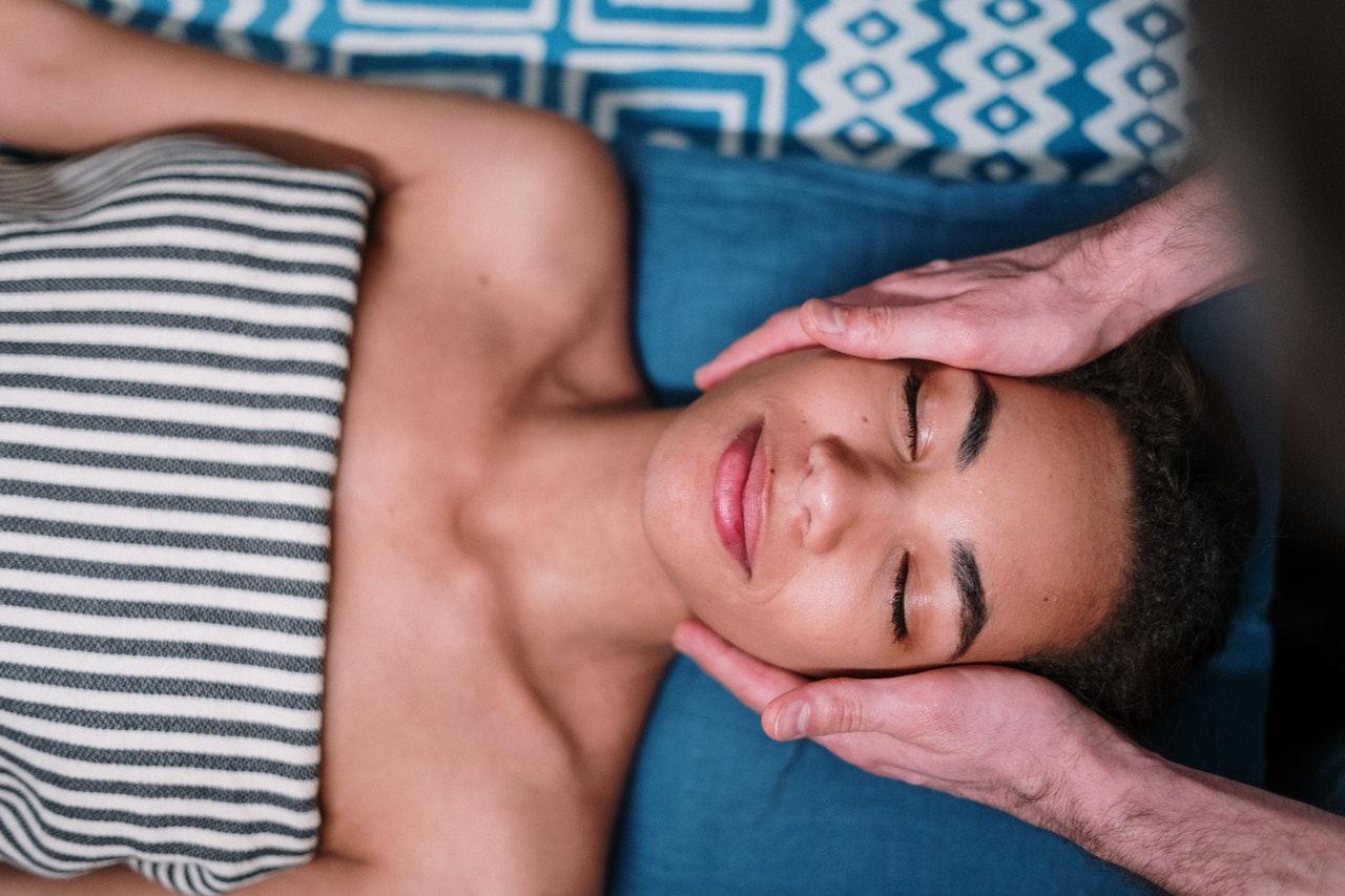 beautiful skin and hair from sleep