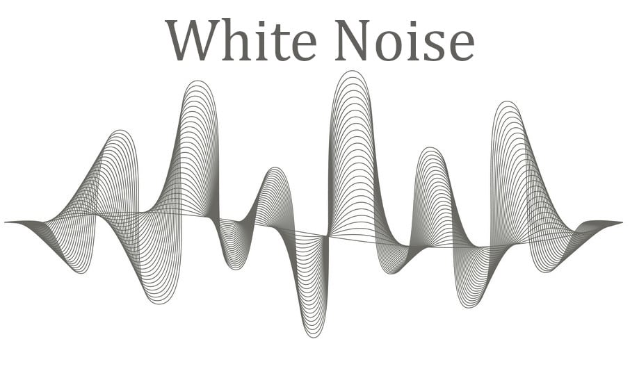 white noise drowns out distractions