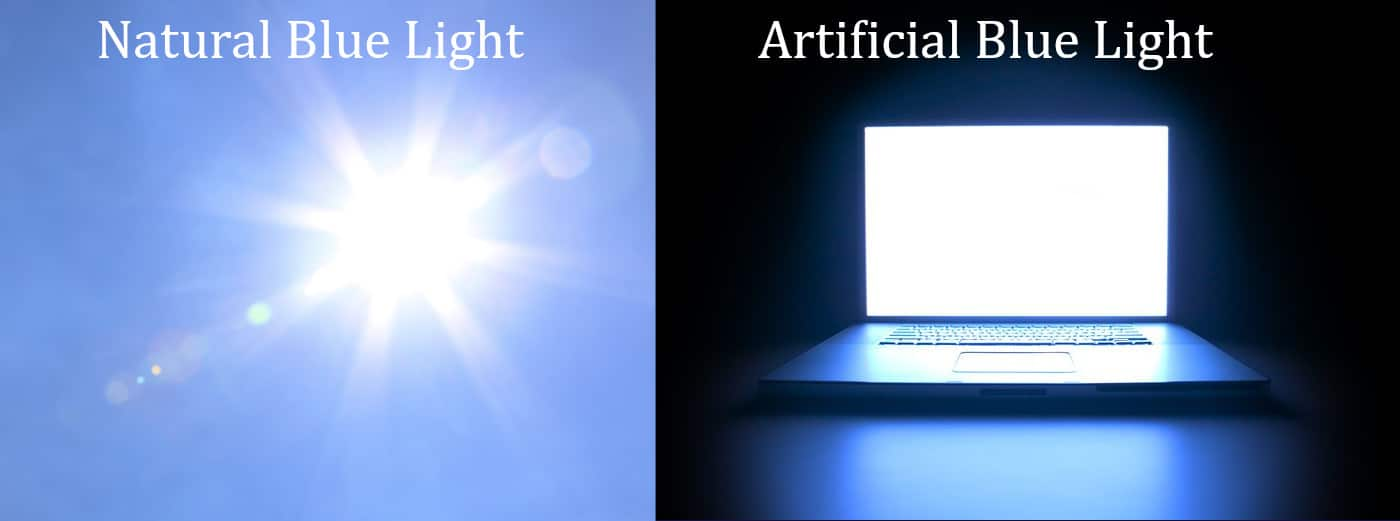 how does blue light affect your sleep
