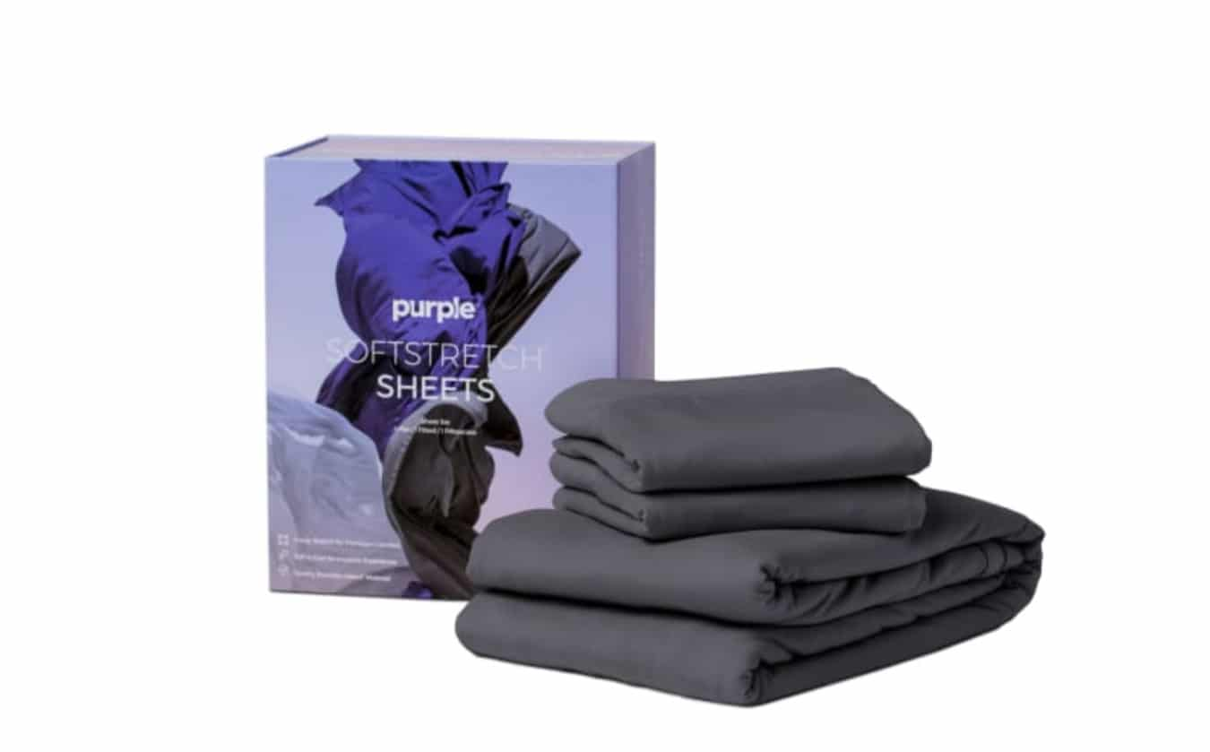 stretchy extra soft sheets by purple