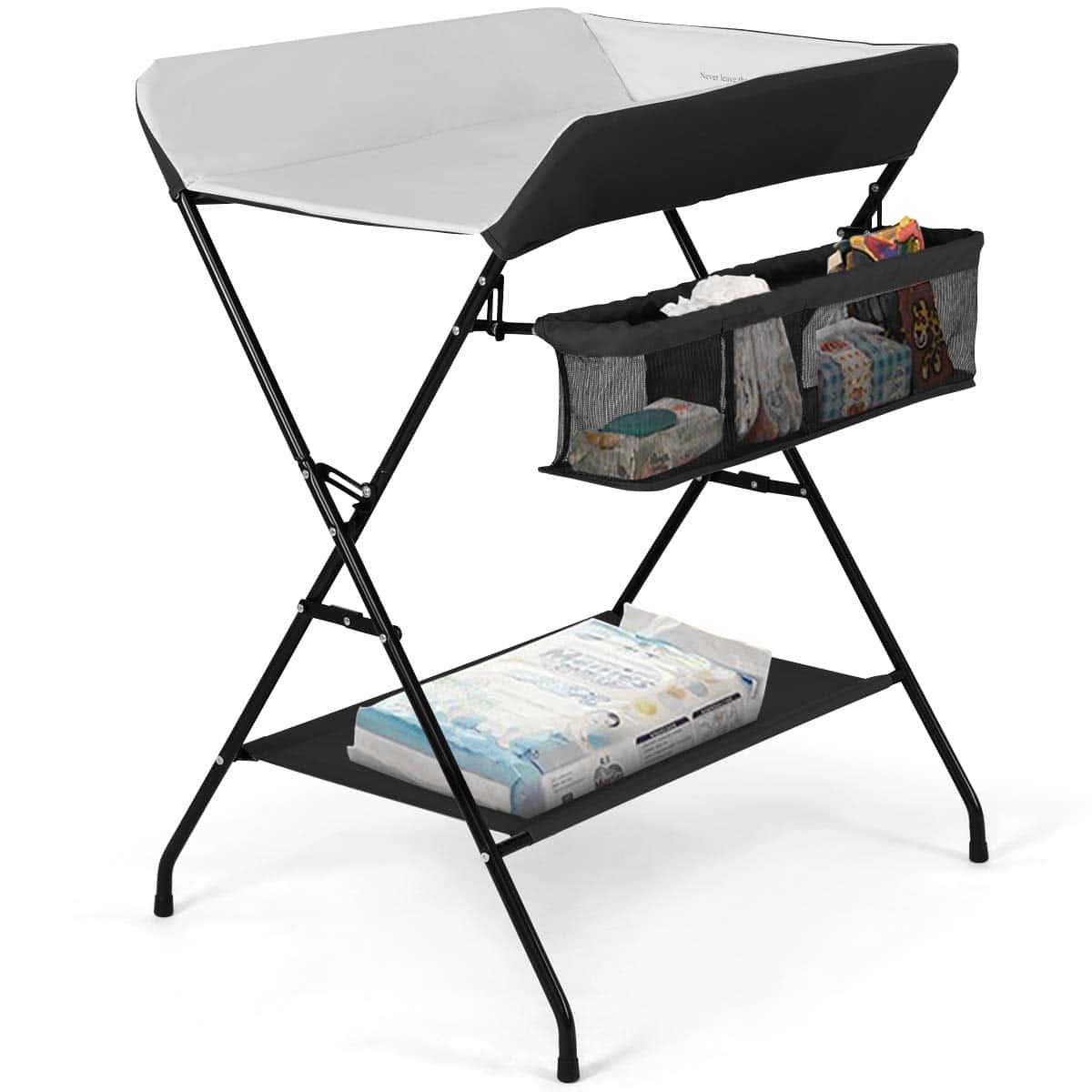 costzon portable baby changing table