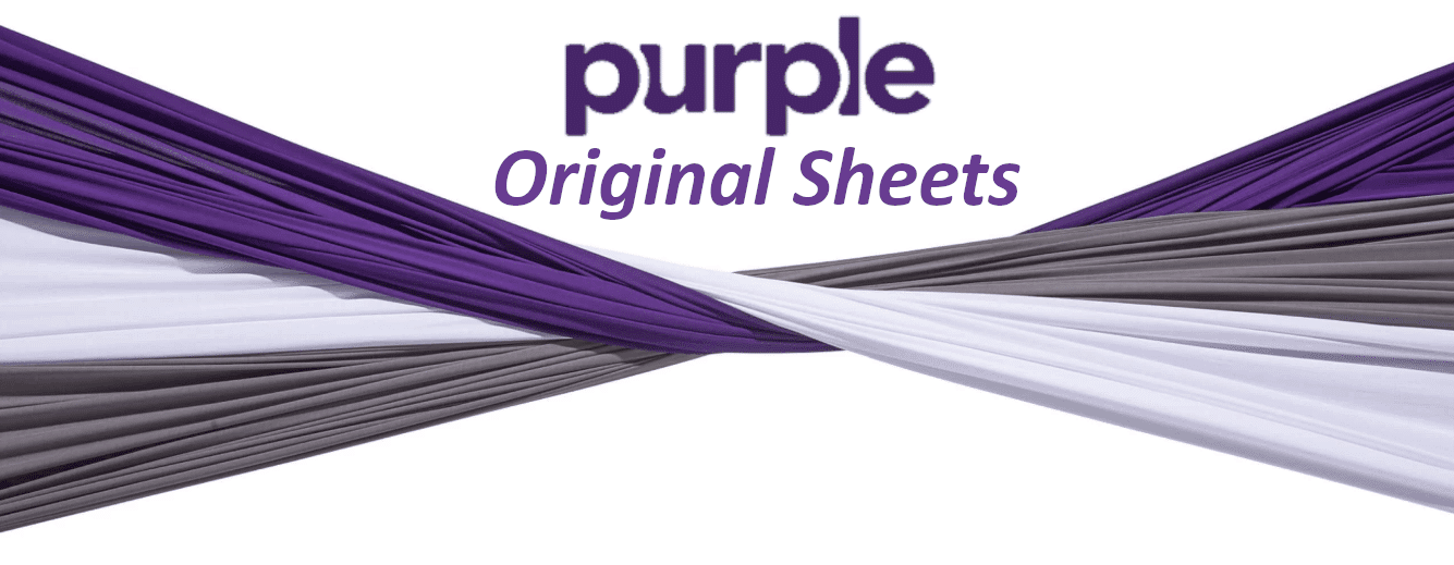 top orignanl purple sheets with stretch