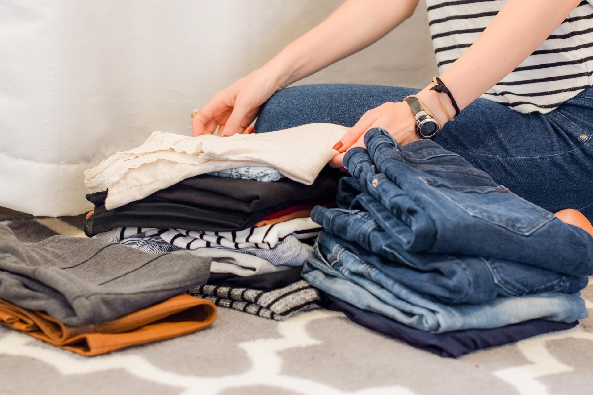 do your laundry weekly