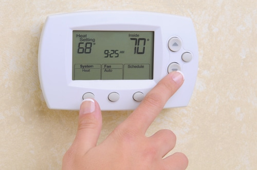 check the temperature in your home