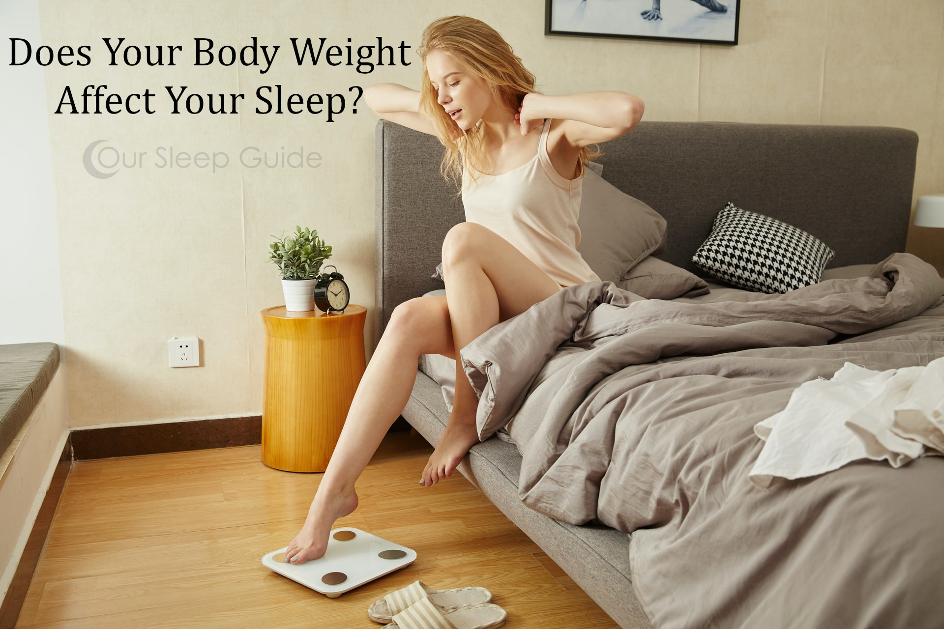 body weight and sleep