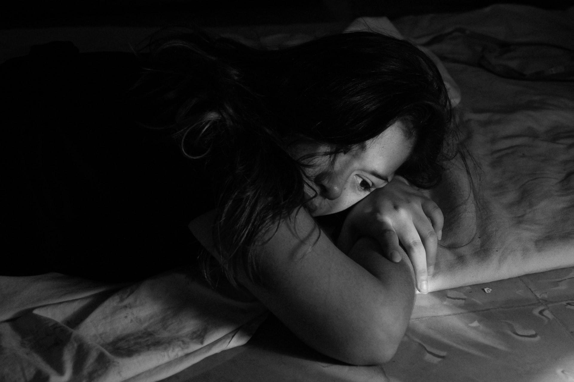periods and depression can make it difficult to sleep