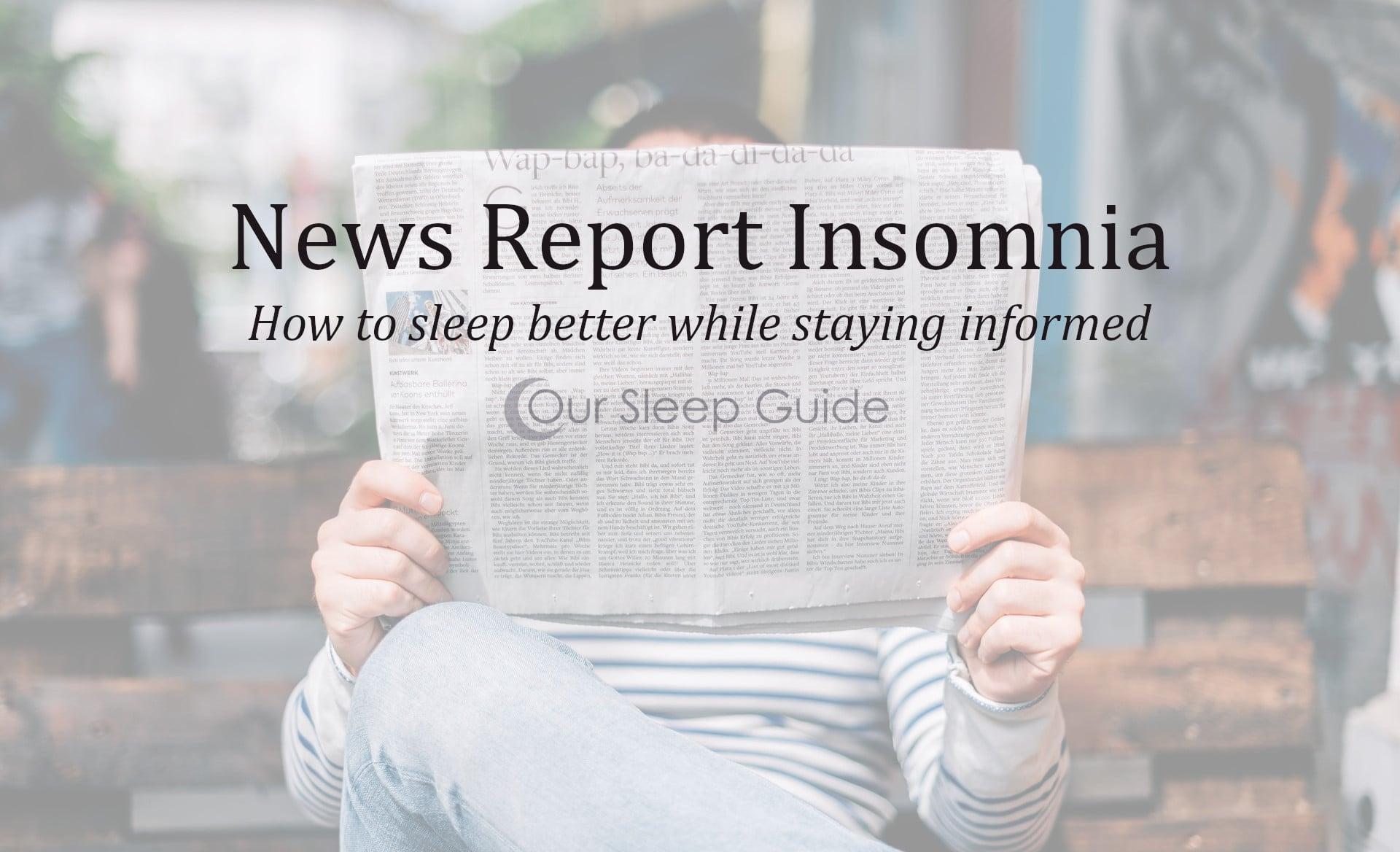 new report insomnia