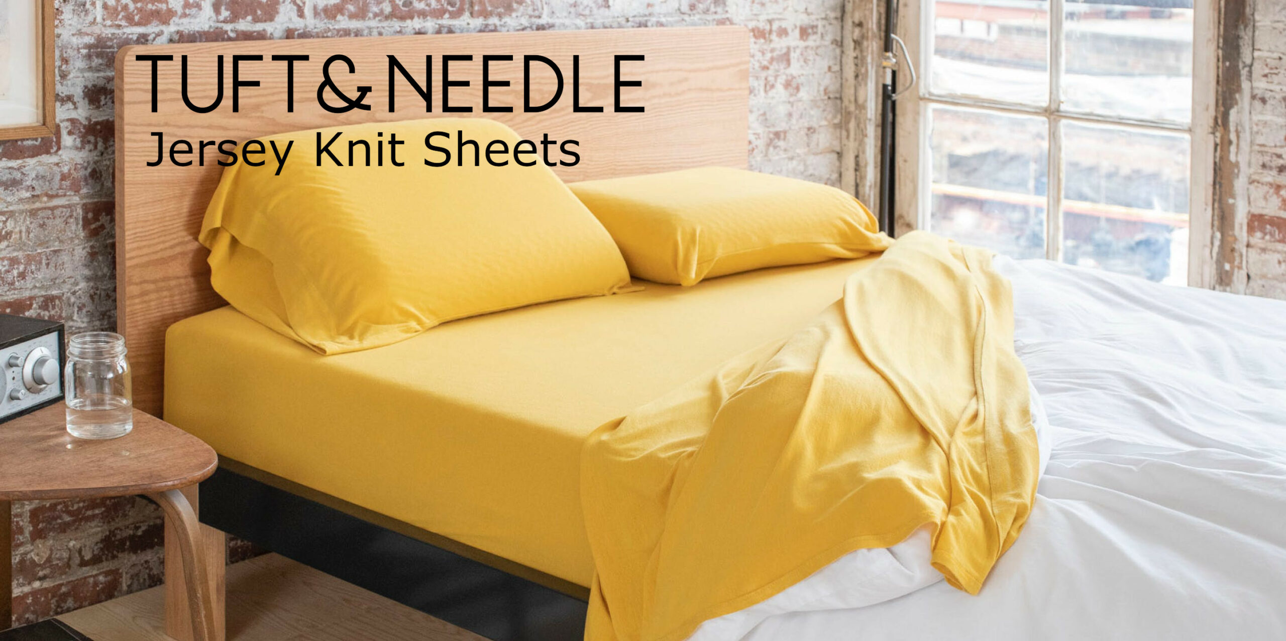 tuft and needle jersey knit sheets review