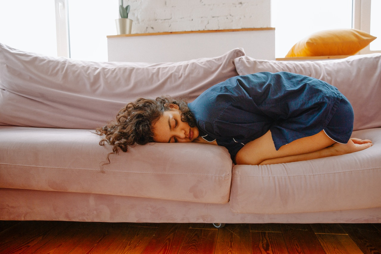 heating pads help you sleep during your period
