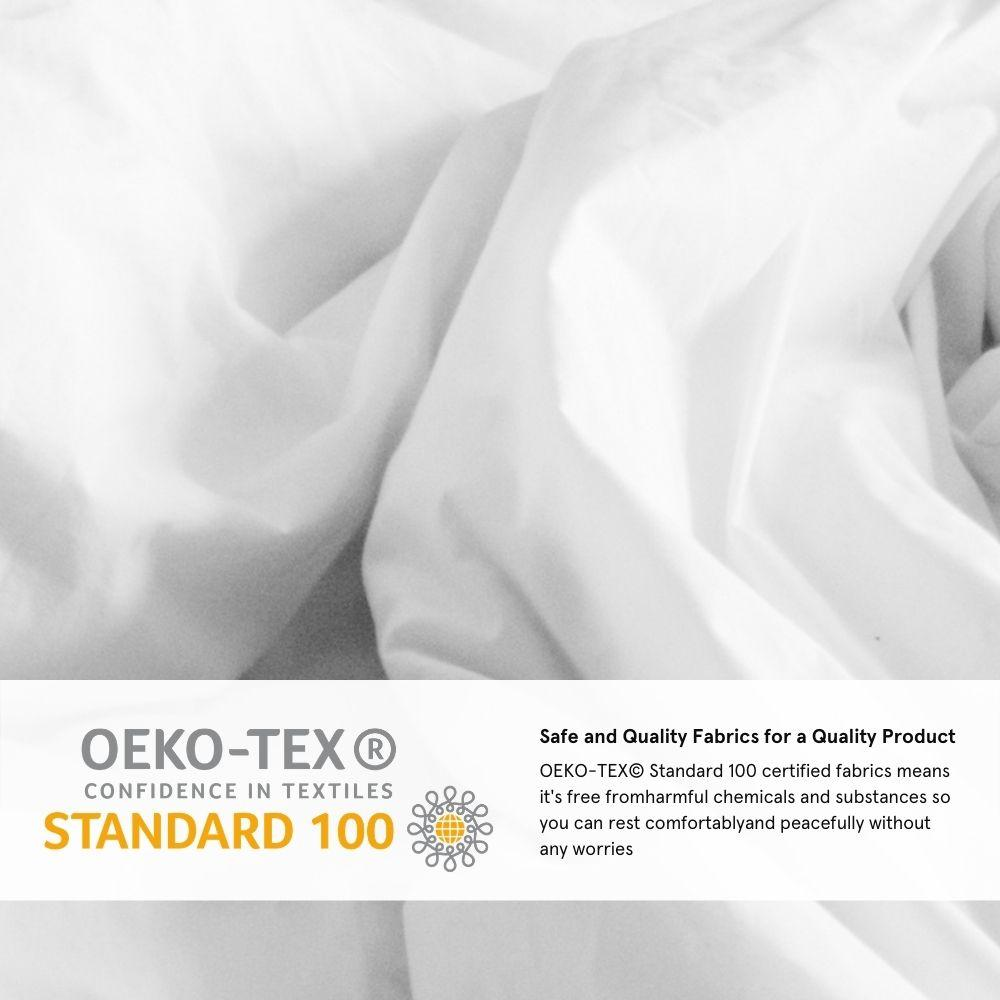 oeko tex standard 100 sheets review