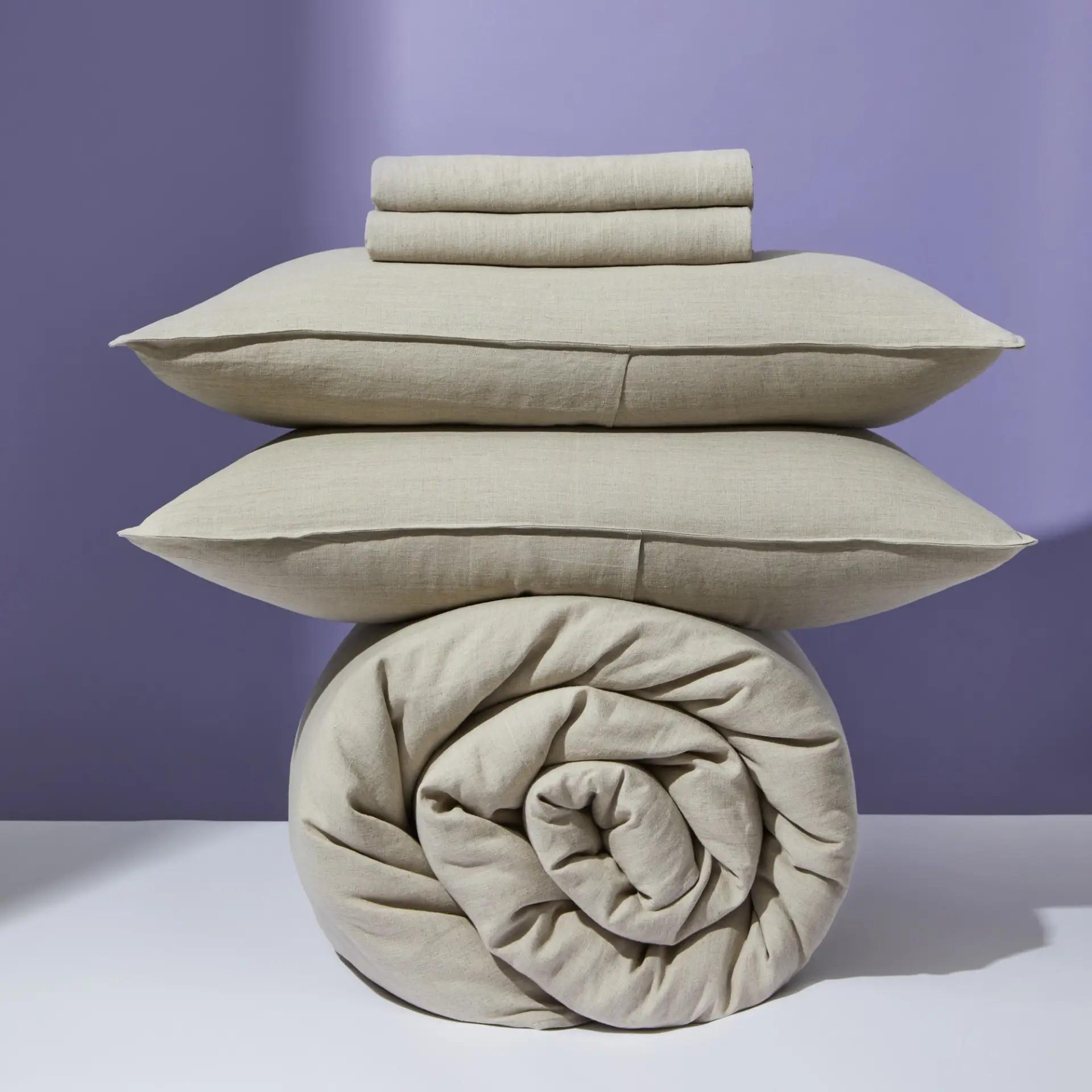 hemp bedding is more eco-friendly