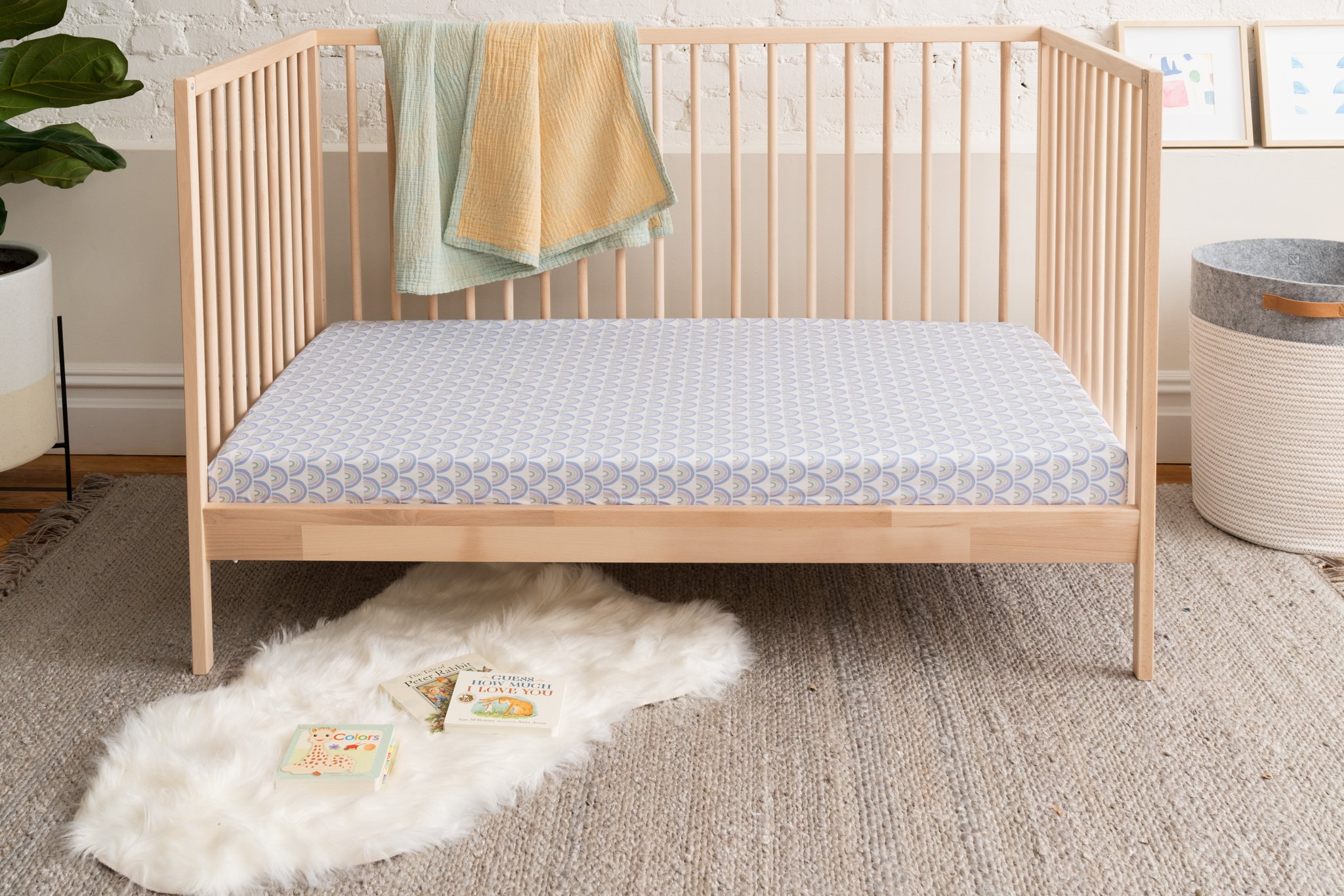 organic baby sheets from allswell