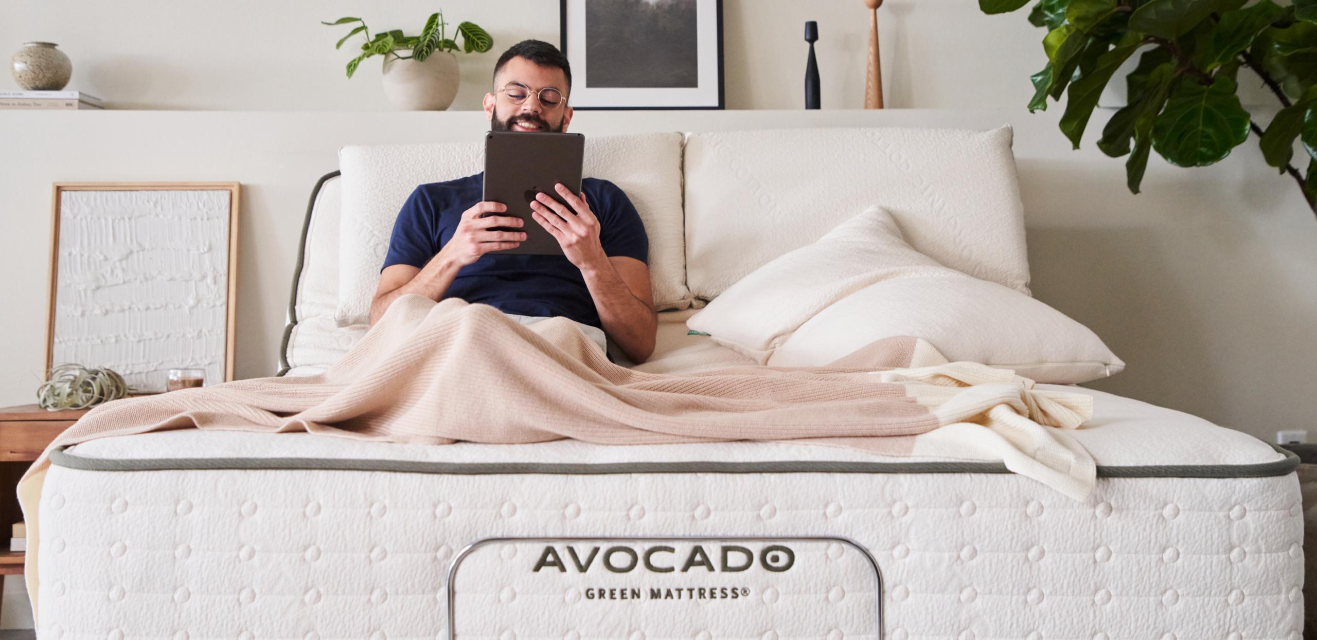 adjustable base from the avocado mattress company