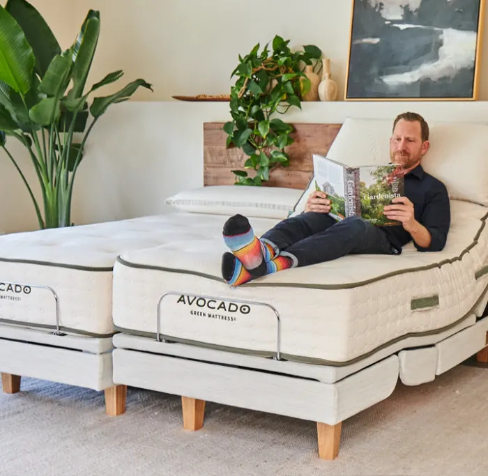 avocado adjustable bed frame
