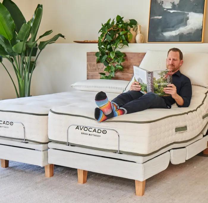 avocado adjustable bed frame
