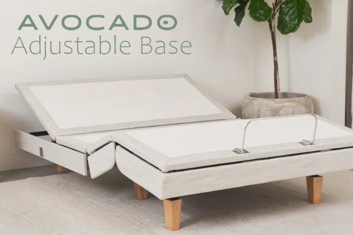 adjustable bed frame from avocado