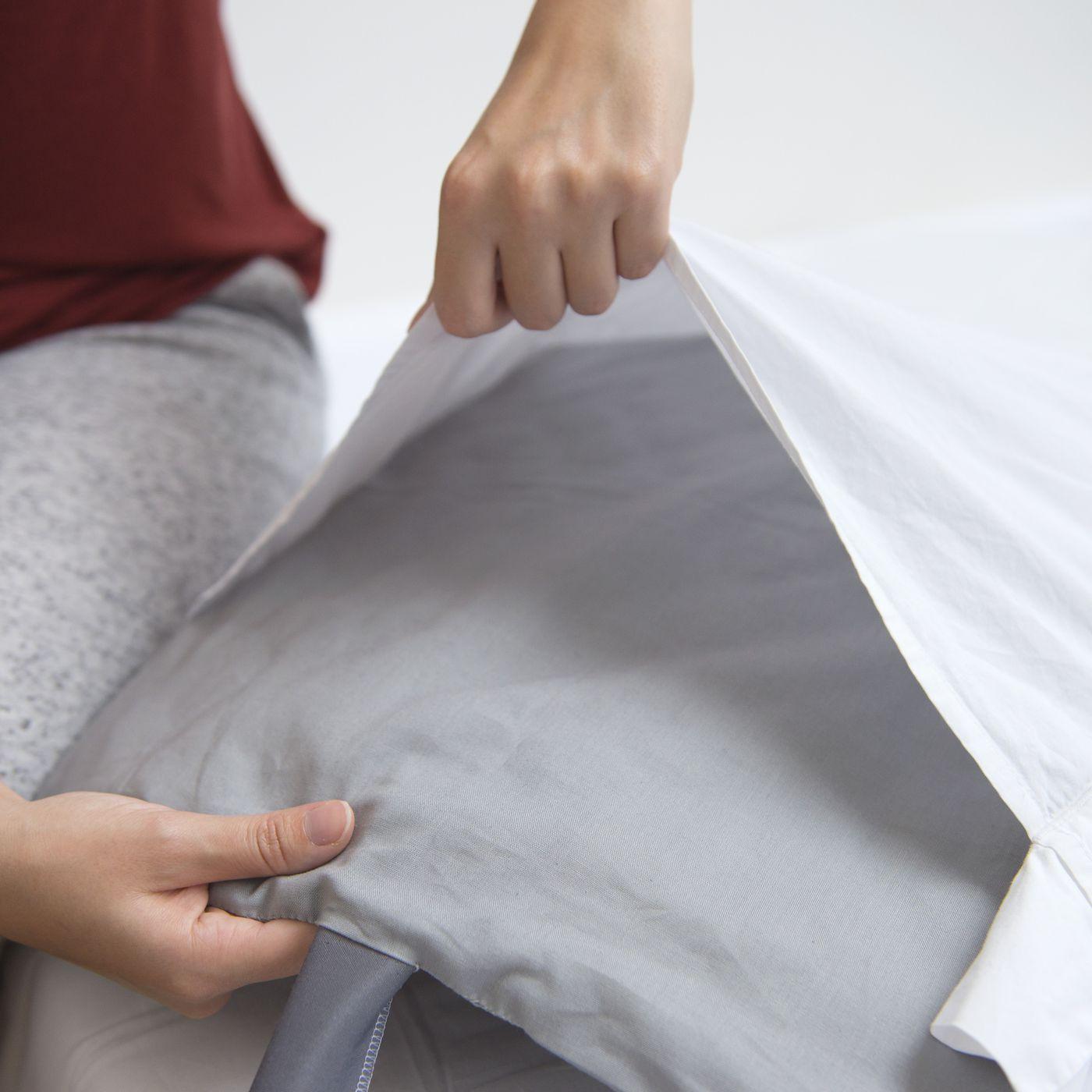 oh so comfortable cool memory foam pillow pad