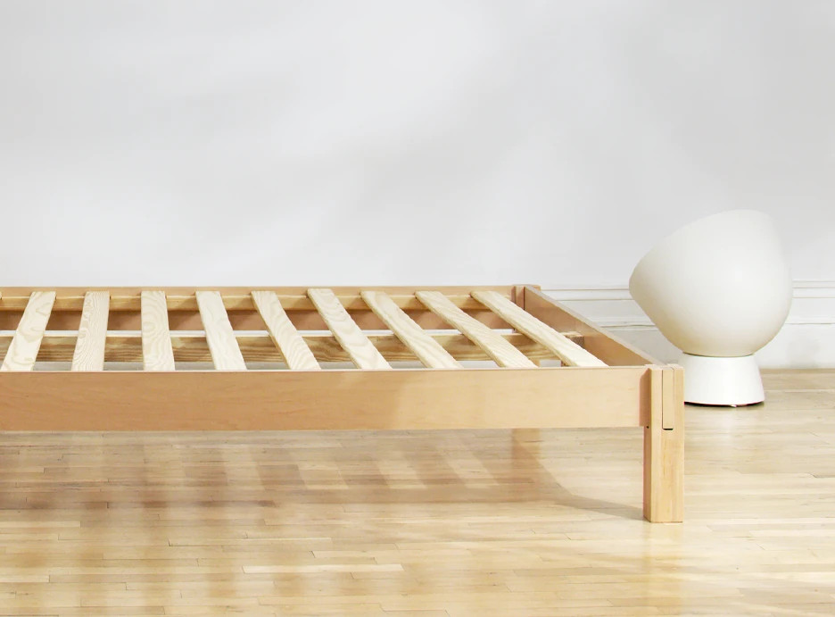 modern bed frame by helix
