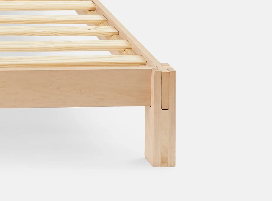 japanese joinery bed frame