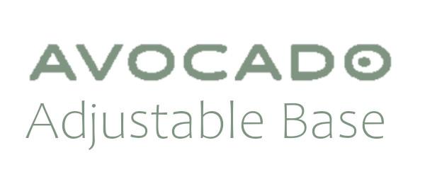 avocado adjustable base logo