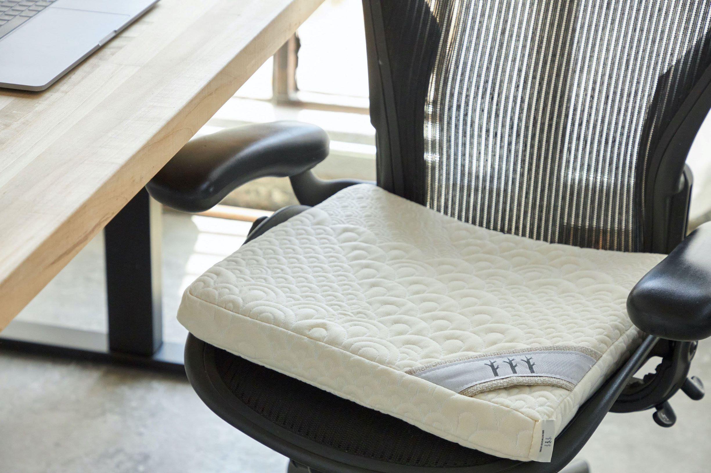 certified organic seat cushion