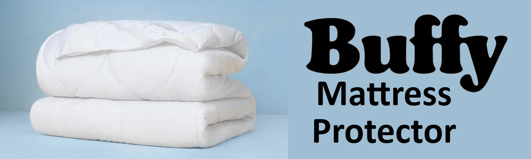 check out the new buffy mattress protector
