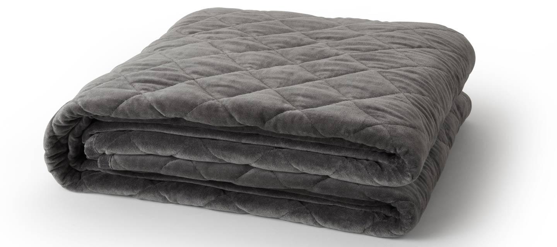 gots organic cotton velvet weighted blanket