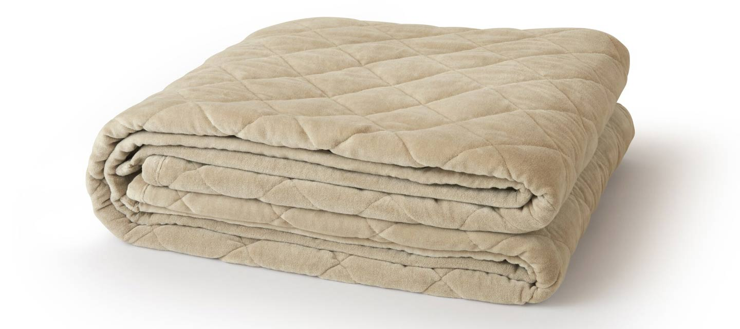 how soft is a weighted blanket from Saatva
