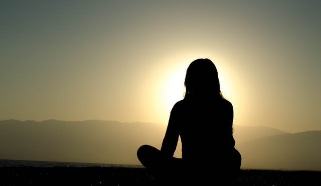 meditation and yoga help calm and relax the body