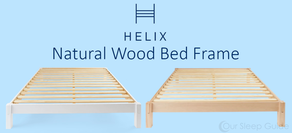 natural wooden bed frame review