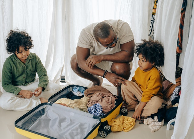 pack extra clothes for your kid