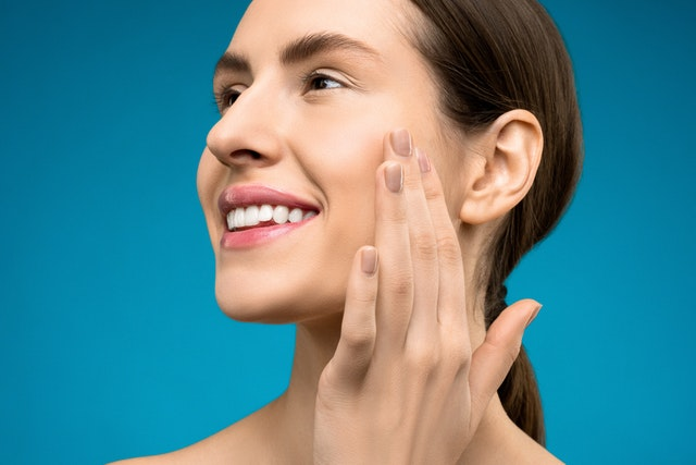 massage your jaw at night and in the morning to relax your jaw