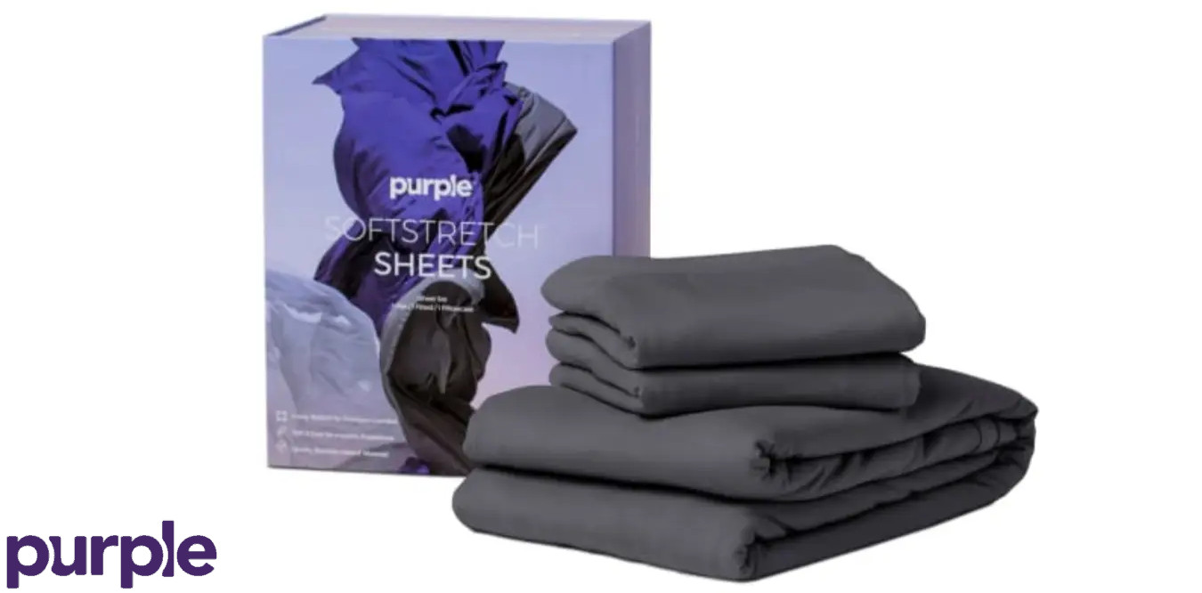 soft stretch sheets from purple mattress company review