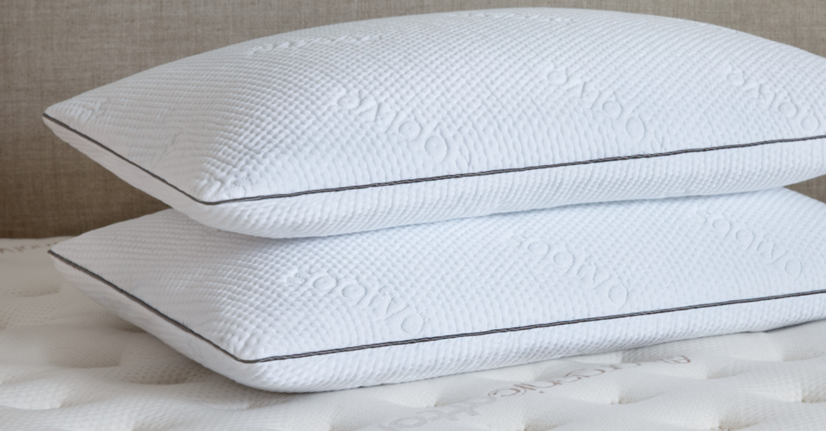 double stack memory foam pillow from saatva
