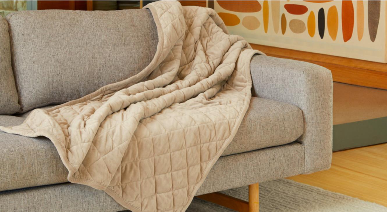 organic cotton velvet blanket