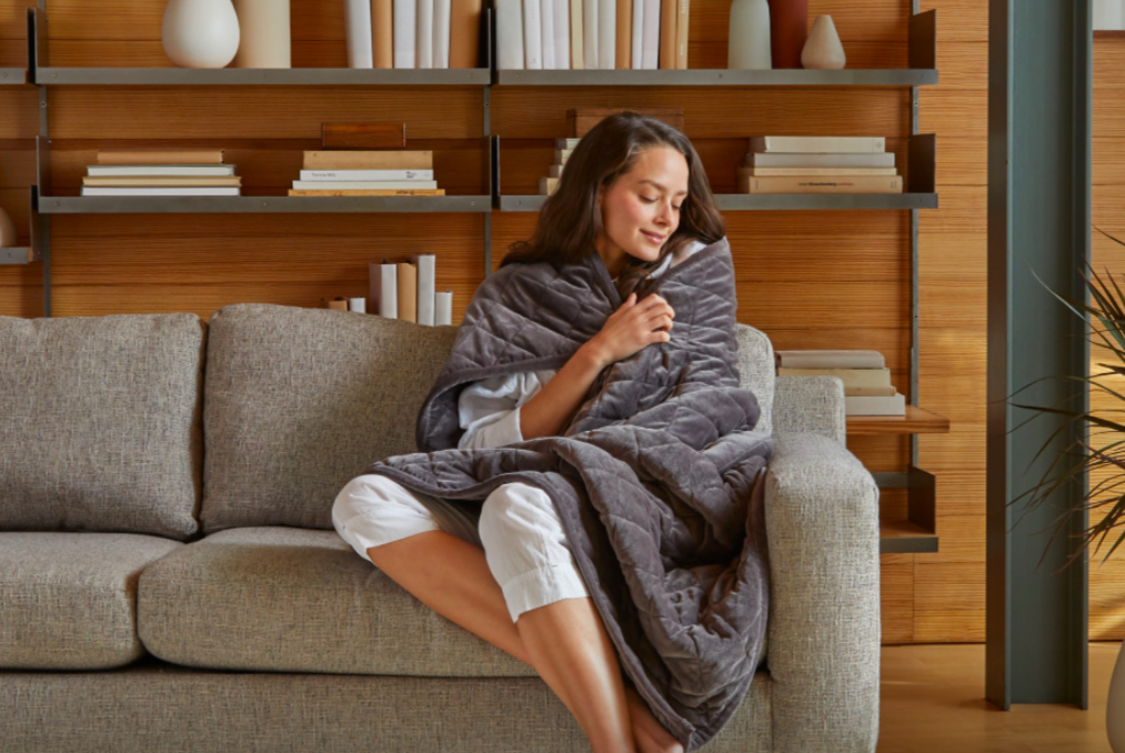 weighted blankets help with stress