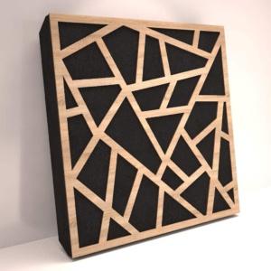 sound reducing wall art