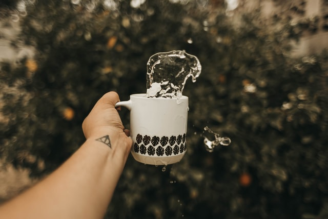 drink water before you drink your coffee