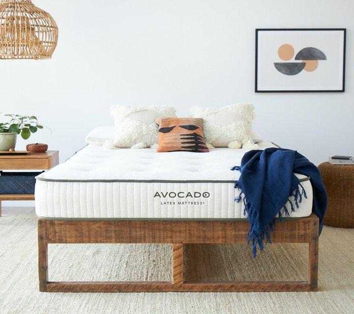 all latex mattress by avocado