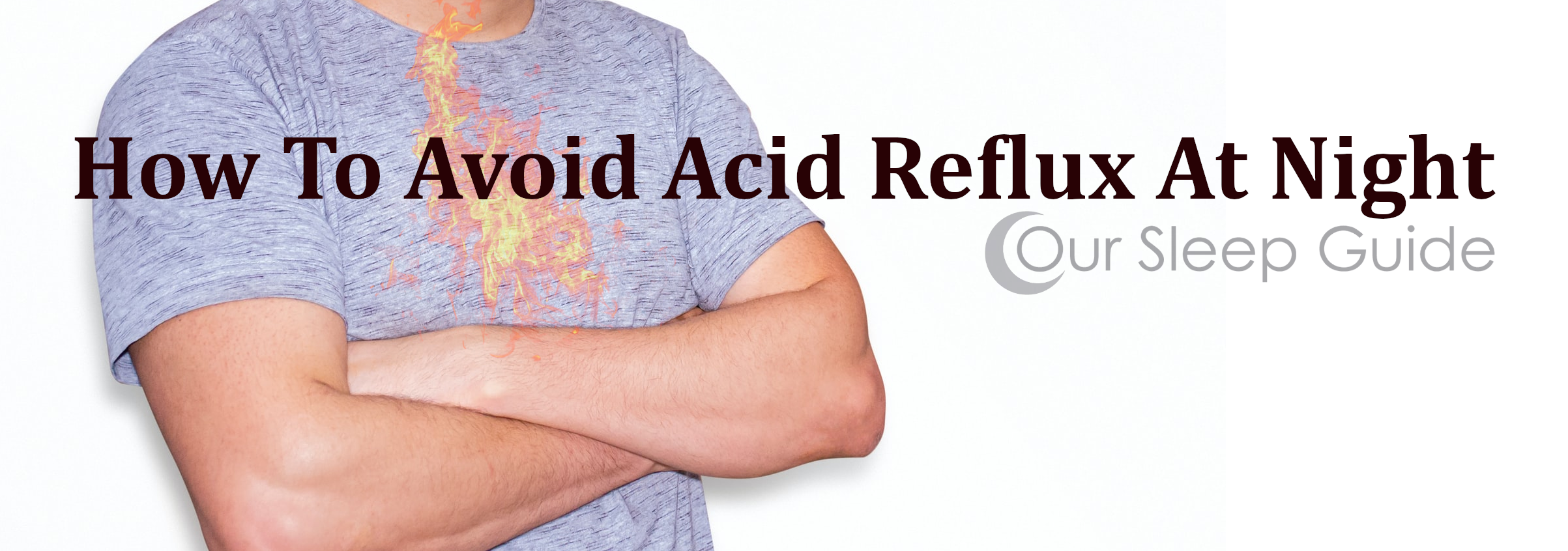 how to avoid acid reflux at night