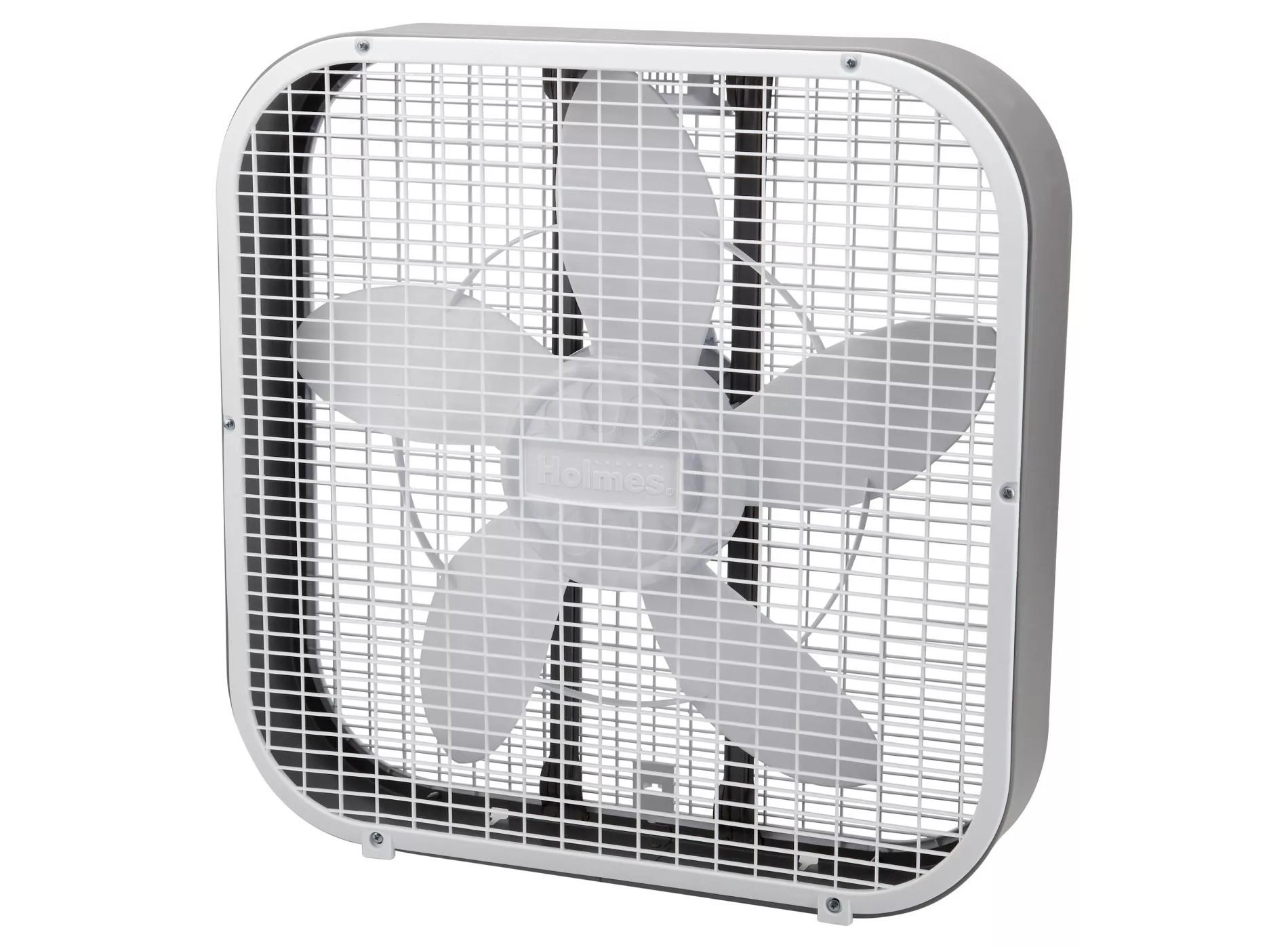 use a box fan at night