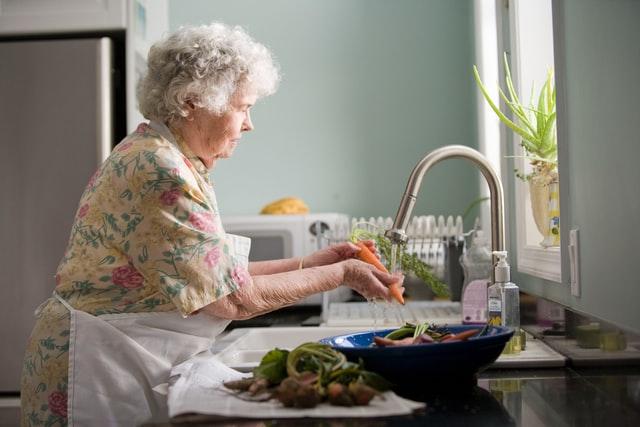 true or false do elderly perople need less sleep?