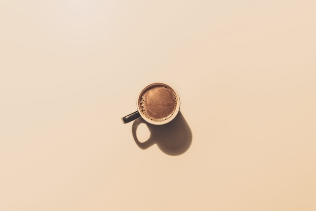 avoid coffee on an empty stomach