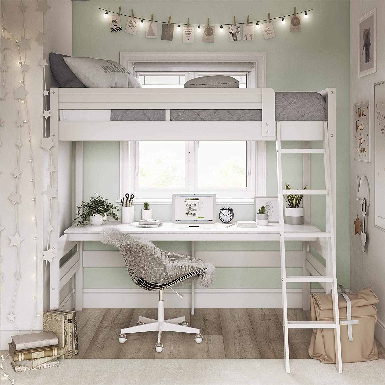 loft beds add lots of space to your small bedroom