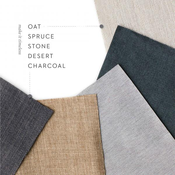 color options from malouf materials and fabric