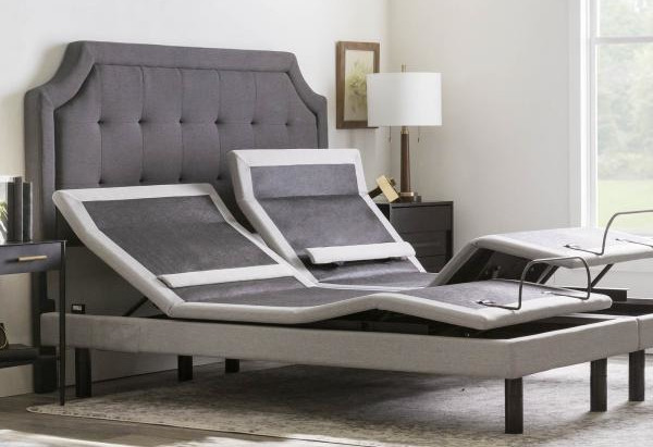 position changing bed with headrest