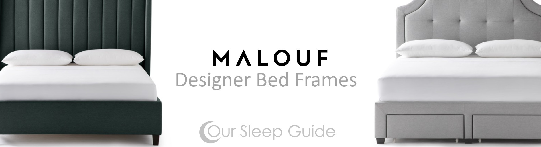 malouf designer bed frame our sleep guide