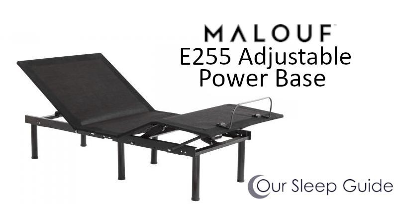 malouf e255 adjustable base review